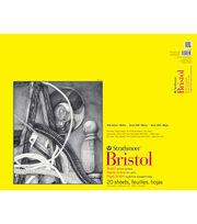 """Strathmore Vellum Bristol Paper Pad 19""""X24""""-100lb 20 Sheets, , hi-res"""