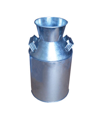 Galvanized Milk Can