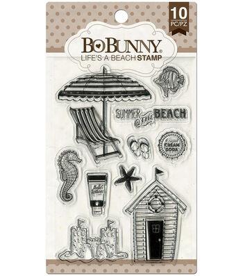 "Essentials Stamps 4""X6""-Life's A Beach"