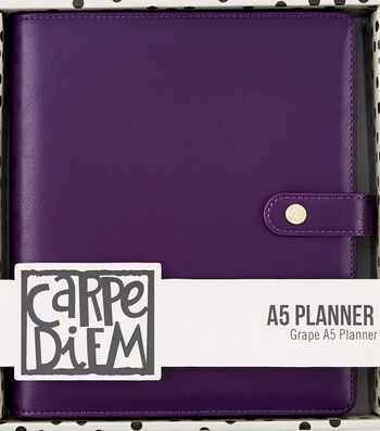 Carpe Diem A5 Planner-Purple