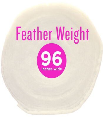 "Poly-Fil® Feather-Weight Batting 96"" wide x 30 yard Roll"