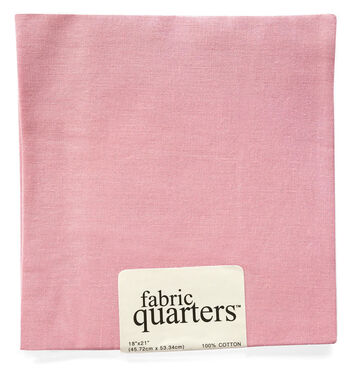 "Fabric Quarters Cotton Fabric 18""-Ballet Pink"
