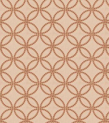 """Eaton Square Print Fabric 51""""-Alana/Spice"""