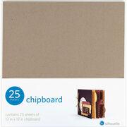 "Silhouette Chipboard 12""X12"" 25/Pkg-, , hi-res"