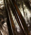 Metallics Lamé Fabric 58\u0022-Gold and White