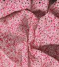 Gertie Collection Laser Cut Eyelet Fabric 55\u0027\u0027-Red