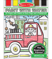 Melissa & Doug Paint with Water - Vehicles, , hi-res