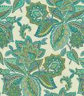 Waverly® Multi-Purpose Decor Fabric 55\u0022-Treasure Trove/Peacock