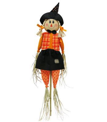 Maker's Halloween 60'' Girl Scarecrow
