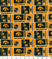 "University of Iowa Hawkeyes Cotton Fabric 43""-Herringbone, , hi-res"