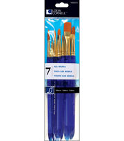Taklon Craft Brush Set-7/Pk, , hi-res