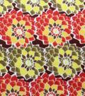 Anti-Pill Fleece Fabric Fall Floral