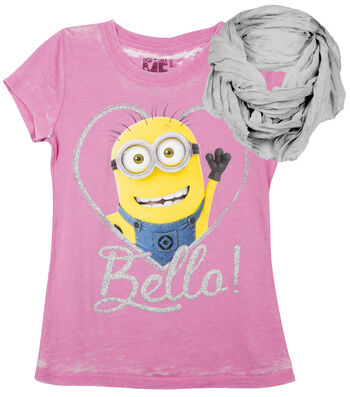 Minions Bello Shirt with Scarf
