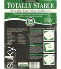 Sulky Stable Iron-On Tear Away Stabilizer-20\u0022W x 3yds