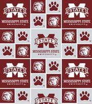 "Mississippi State University Bulldogs Cotton Fabric 43""-Block, , hi-res"
