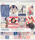 Authentique Collection Kit 12\u0022X12\u0022-Heroic