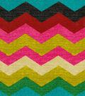 Waverly Upholstery Fabric 54\u0022-Panama Wave/Desert Flower