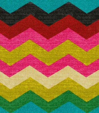 "Waverly Upholstery Fabric 54""-Panama Wave/Desert Flower"