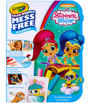 Crayola Color Wonder On The Go Coloring Kit-Shimmer & Shine, , hi-res