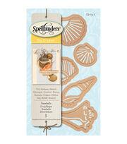 Spellbinders™ Die D-Lites 5 Pack Etched Dies-Seashells, , hi-res