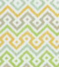 Waverly Upholstery Fabric-Painted Meadow/Sterling