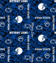 "Penn State University Nittany Lions Fleece Fabric 43""-Digital, , hi-res"