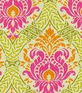 Waverly Dressed Up Damask Upholstery Fabric 54\u0022-Spring
