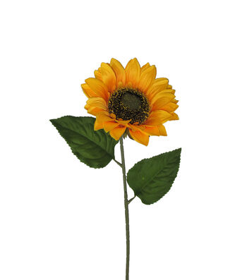 Blooming Autumn 27'' Small Sunflower Stem-Yellow