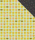 Emoji Love Double-Sided Cardstock 12\u0022X12\u0022-Yay