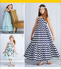 Simplicity Patterns Us1121Hh-Simplicity Child\u0027S And Girls\u0027 Pullover Dresses-3-4-5-6