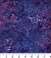 "Legacy Studio™ Indonesian Batiks Cotton Fabric 44""-Purple Ivy, , hi-res"