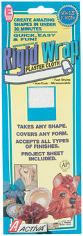Rigid Wrap Plaster Cloth 8\u0022X180\u0022-
