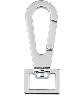 "Nancy Zieman's Bag Hardware 3/4"" Swivel Latch 1/pkg-Glossy Nickel"