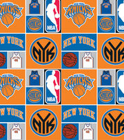 "New York Knicks Cotton Fabric 44""-Patch, , hi-res"