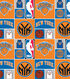 New York Knicks Cotton Fabric 44\u0022-Patch