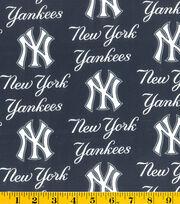 New York Yankees Cotton Fabric 58''-Logo, , hi-res