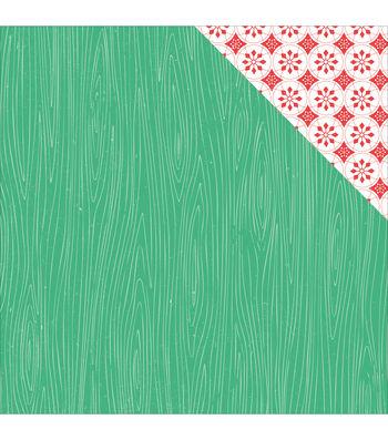 Kaisercraft Holly Jolly Double-Sided Cardstock-Joyous