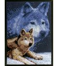 Janlynn Counted Cross Stitch Kit Forever Wild Wolf
