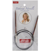 Deborah Norville Fixed Circular Needles 40'' Size 8/5.0mm, , hi-res