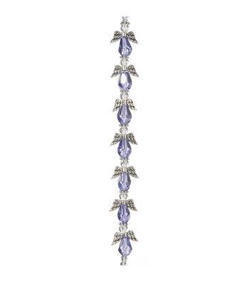 Darice® 7'' 20 mm Angel Wing Beads Strand