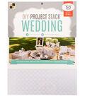 DCWV 8-1/2\u0022x11\u0022 DIY Project Stack: Wedding