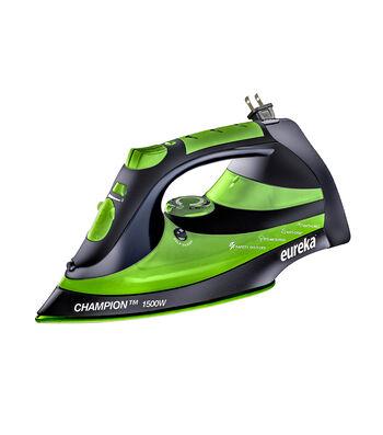 Eureka Champion Steam Iron-Green