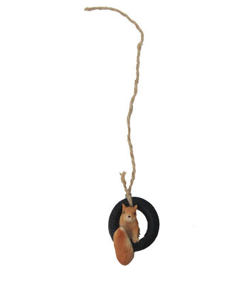 Bloom Room Littles Resin Squirrel In Tire
