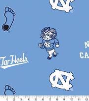 University of North Carolina Tar Heels Fleece Fabric 58''-All Over Blue, , hi-res