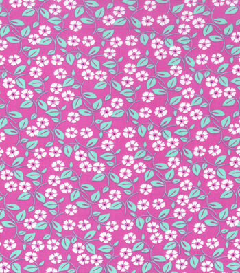 """Keepsake Calico™ Cotton Fabric 43""""-Small Floral Pink"""