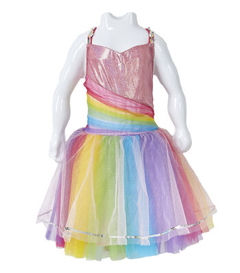 Fashion & Fluff™ Rainbow Dress