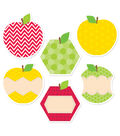 HexaFun Apples 6\u0022 Designer Cut-Outs