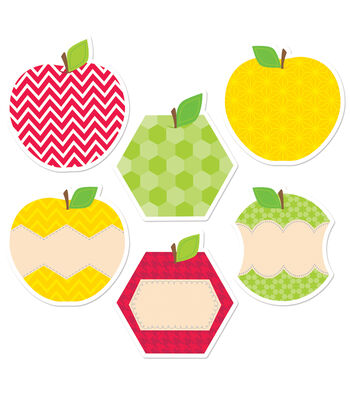 "HexaFun Apples 6"" Designer Cut-Outs"