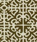Home Decor 8\u0022x8\u0022 Fabric Swatch-Waverly SNS Parterre/Chestnut