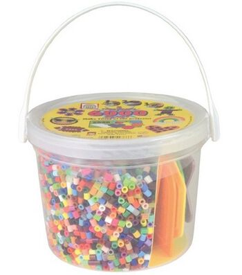 Perler Activity Bucket-6000 Beads+5 Pegboards